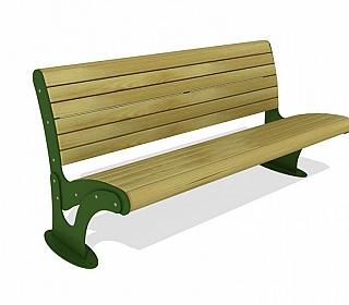 საპარკე სკამი 3